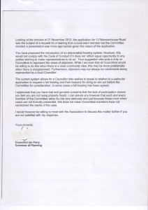 Ian Perry reply to chair p2